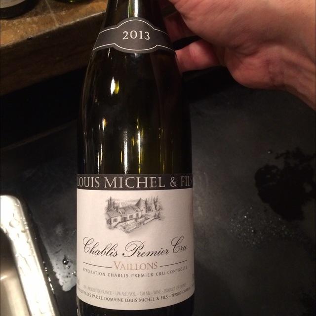 Vaillons Chablis 1er Cru Chardonnay 2013