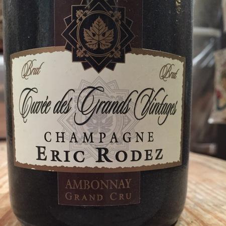 Eric Rodez Cuvée des Grands Vintages Brut Champagne Blend NV