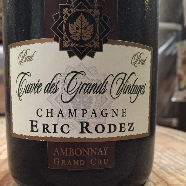 Cuvée des Grands Vintages Brut Champagne Blend NV