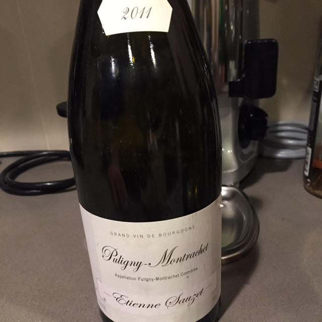 Puligny-Montrachet Chardonnay 2011