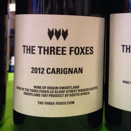 The Three Foxes Carignan 2015