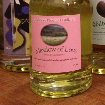 Delaware Phoenix Distillery Meadow of Love Absinthe Supérieure NV (375ml)