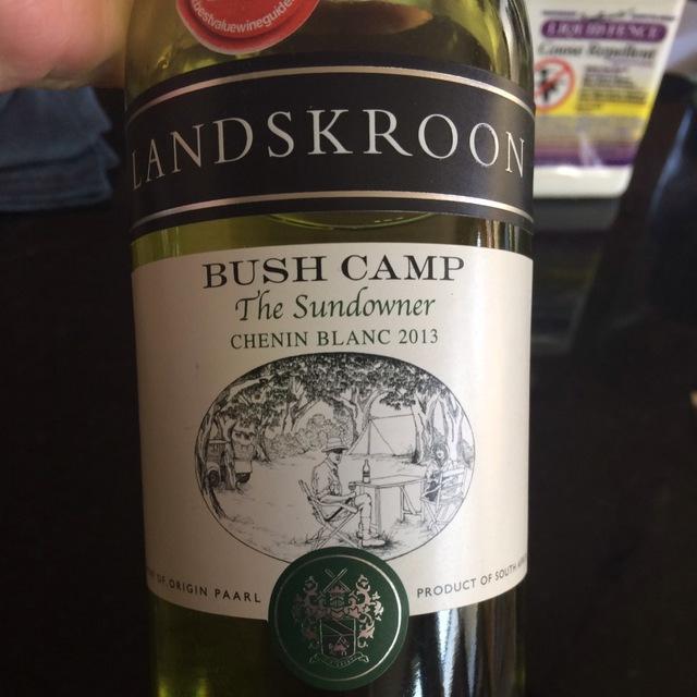 The Sundowner Bush Camp Chenin Blanc 2012