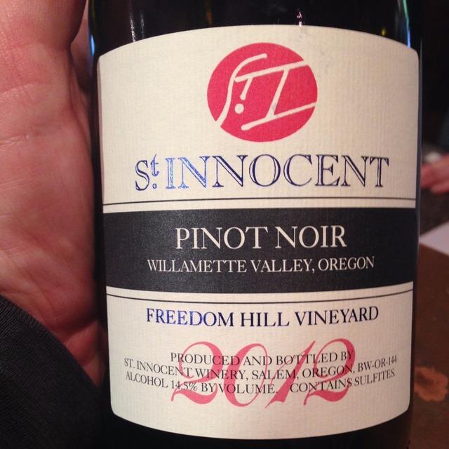 Temperance Hill Vineyard Pinot Noir 2012
