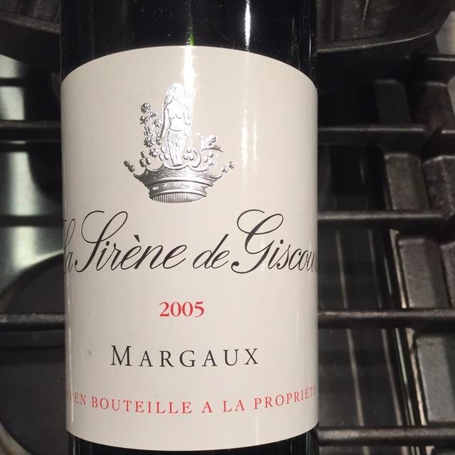 La Sirène de Giscours Margaux Red Bordeaux Blend 2005