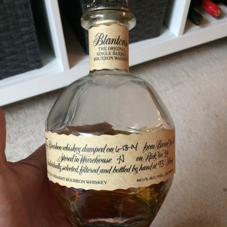 Blanton's Distilling Co. The Original Single Barrel Kentucky Straight Bourbon Whiskey NV