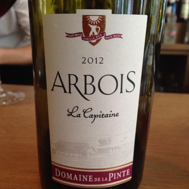 La Capitaine Arbois Poulsard Blend 2012