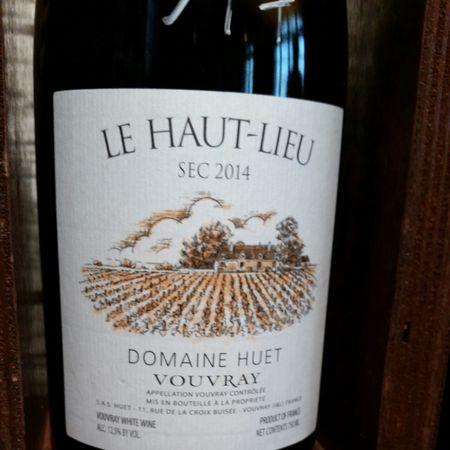 Domaine Huet Le Haut-Lieu Sec Vouvray Chenin Blanc 2014