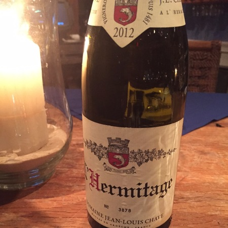 Domaine Jean-Louis Chave Hermitage Syrah 2012