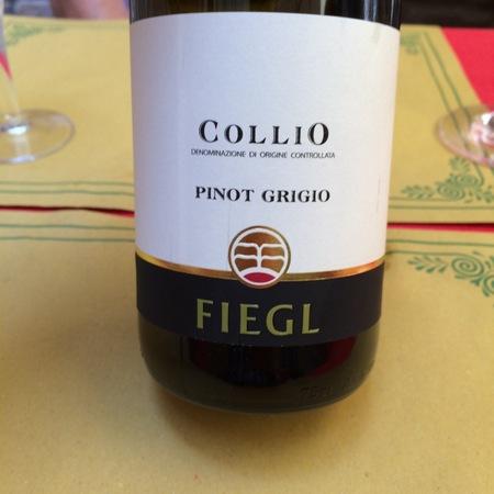 Azienda Agricola Fiegl Collio Pinot Grigio 2016