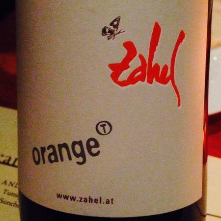Weingut Zahel Orange T Orangetraube 2015