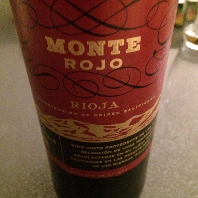 Monte Rojo Rioja Tempranillo 1981