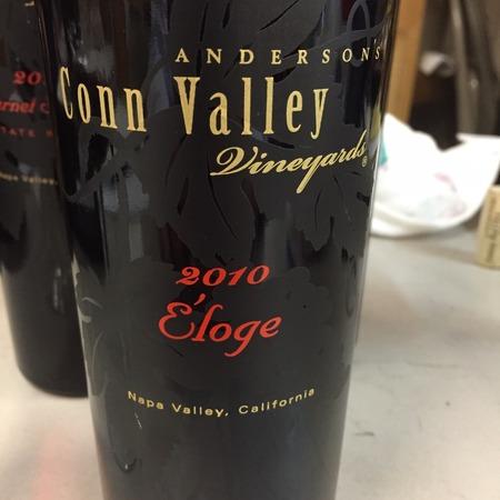 Anderson's Conn Valley Vineyards Éloge Napa Valley Cabernet Sauvignon Blend 2010