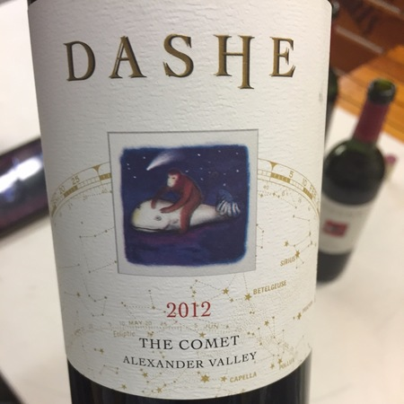 Dashe Cellars The Comet Alexander Valley Zinfandel Blend