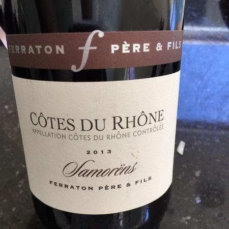 Ferraton Père & Fils Samorëns Côtes du Rhône White Rhone Blend 2016