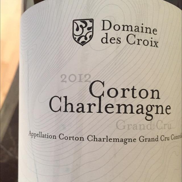 Corton-Charlemagne Grand Cru Chardonnay 2012