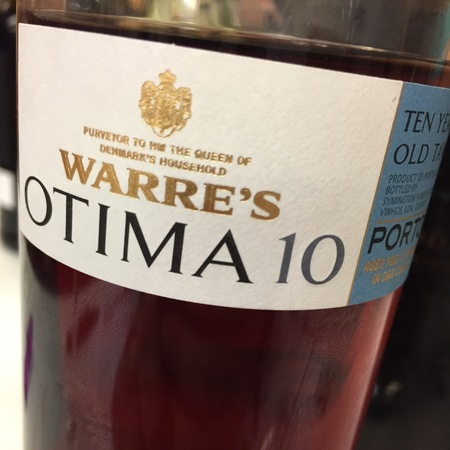 Warre's Otima 10 Year Old Tawny Porto Port Blend (500ml)