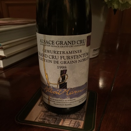 Albert Mann Sélection de Grains Nobles Furstentum Grand Cru Gewürztraminer 2001 (375ml)