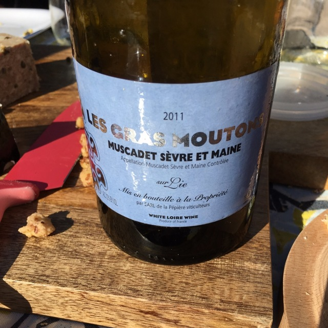 Le Gras Mouton Muscadet de Sèvre-et-Maine Sur Lie Melon de Bourgogne 2014