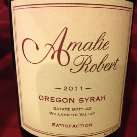 Amalie Robert Satisfaction Syrah 2011