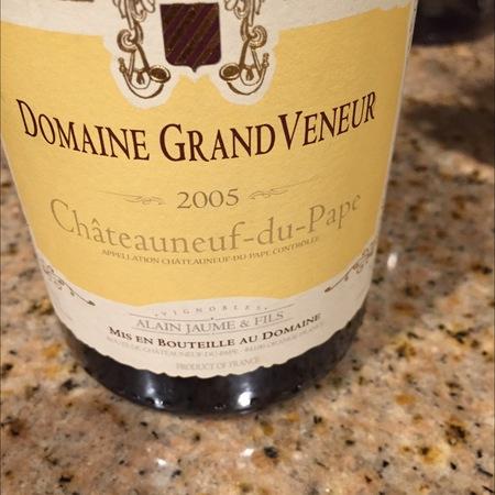 Alain Jaume & Fils Domaine Grand Veneur Châteauneuf-du-Pape Red Rhone Blend 2005