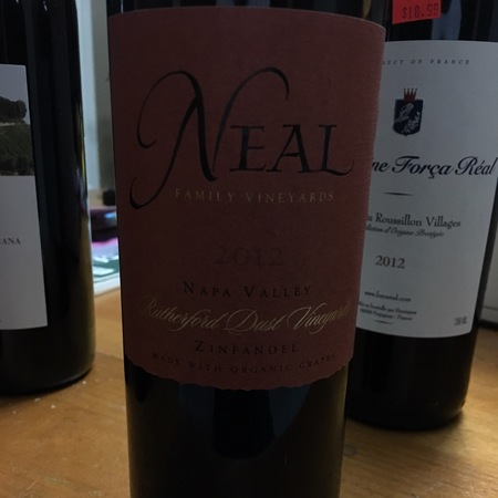 Neal Family Vineyards Napa Valley Cabernet Sauvignon 2012