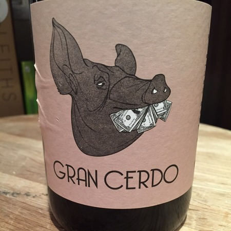 Gonzalo Gonzalo Gran Cerdo Rioja Tempranillo 2016