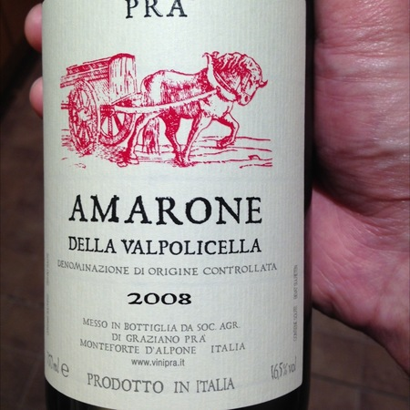 Graziano Prà Amarone della Valpolicella Corvina Blend  2008