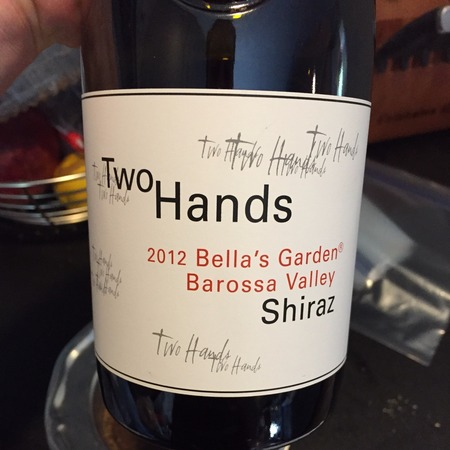 Two Hands Bella's Garden Shiraz 2012