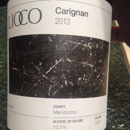 Lioco Sativa Mendocino Carignan 2013