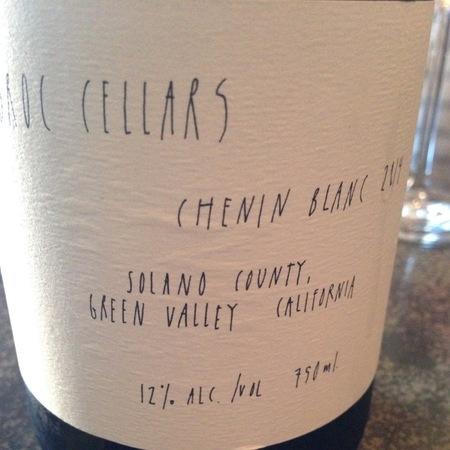 Broc Cellars Green Valley Chenin Blanc 2016