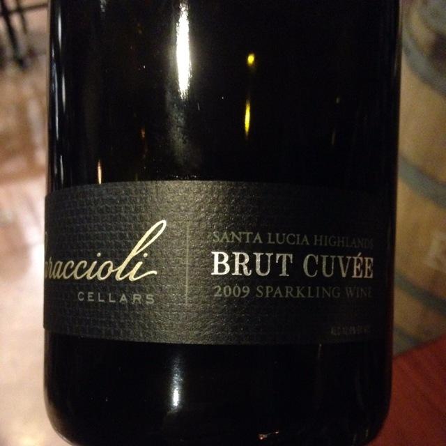 Brut Cuvée Santa Lucia Highlands Sparkling Pinot Noir Chardonnay 2009