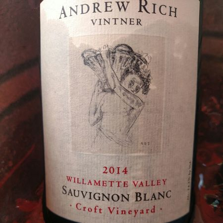 Andrew Rich Croft Vineyard Sauvignon Blanc 2014