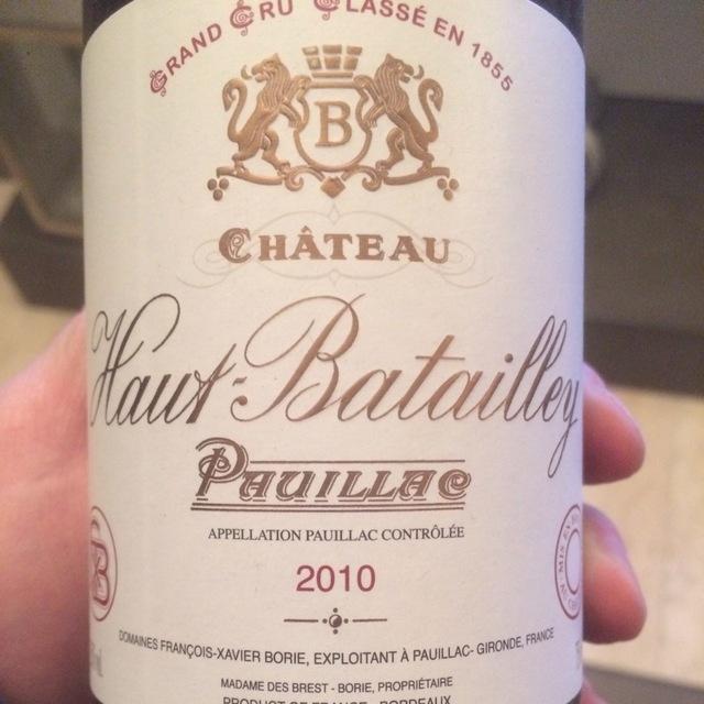 Pauillac Red Bordeaux Blend 2010