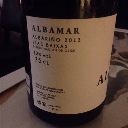 Albamar Rías Baixas Albariño 2016
