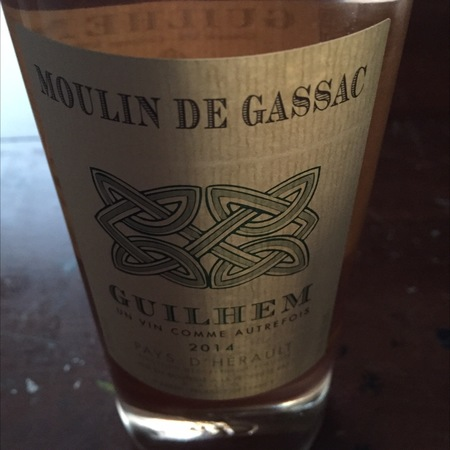 Daumas Gassac Moulin de Gassac Guilhem Rosé Grenache Blend 2016 (750ml 12bottle)
