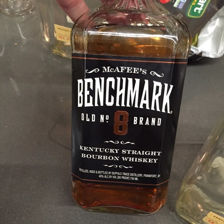 Buffalo Trace Distillery McAfee's Benchmark Old No.8 Brand Kentucky Straight Bourbon Whiskey NV