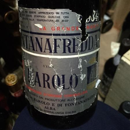 Fontanafredda Barolo Nebbiolo 1964
