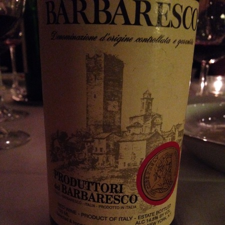 Produttori del Barbaresco Barbaresco Nebbiolo 2014