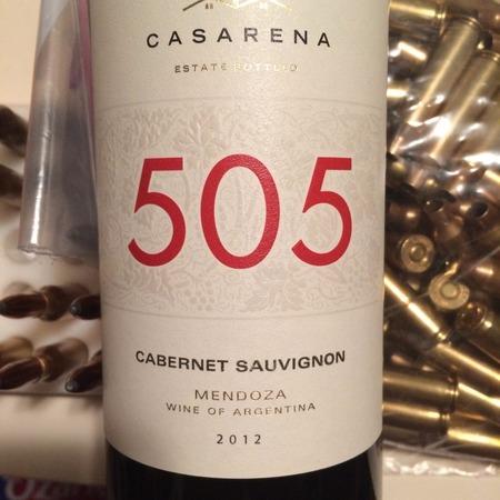 Casarena 505 Mendoza Cabernet Sauvignon  2012