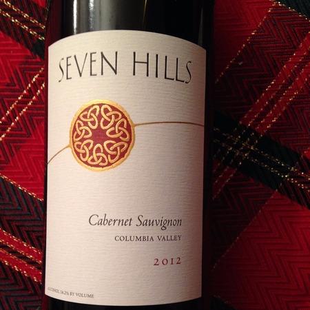 Seven Hills Columbia Valley Cabernet Sauvignon 2014 (750ml 12bottle)