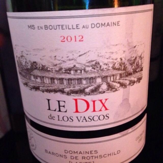 Le Dix de Los Vascos Cabernet Sauvignon 2012