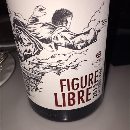 Domaine Gayda Figure Libre Vin de Pays d'Oc Cabernet Franc 2015