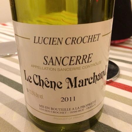Lucien Crochet Le Chêne Marchand Sancerre Sauvignon Blanc 2015