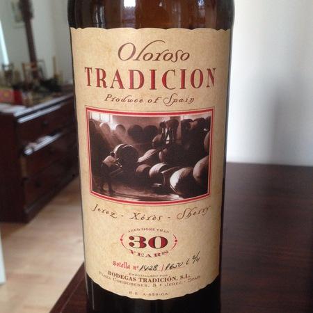Bodegas Tradición 30 Years VORS Oloroso Jerez-Xérès-Sherry Palomino Fino NV