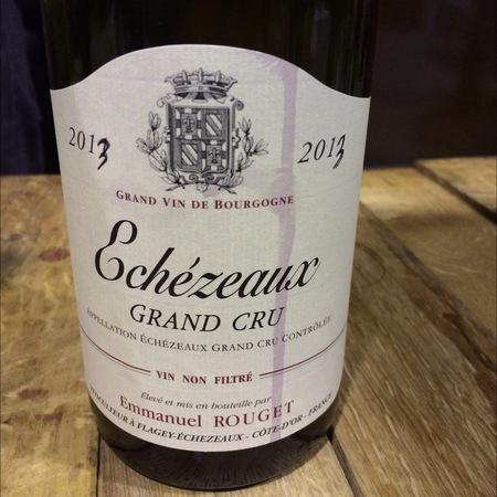 Emmanuel Rouget Echezeaux Grand Cru Pinot Noir 2013