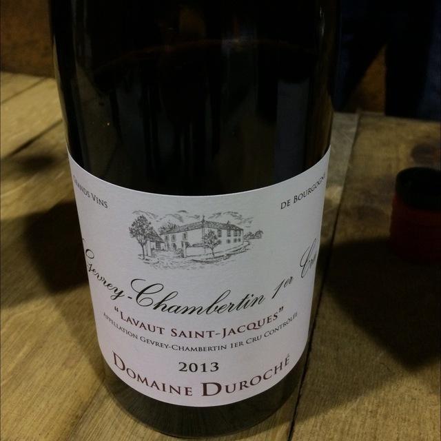 Lavaut Saint-Jacques Gevrey-Chambertin 1er Cru Pinot Noir 2013