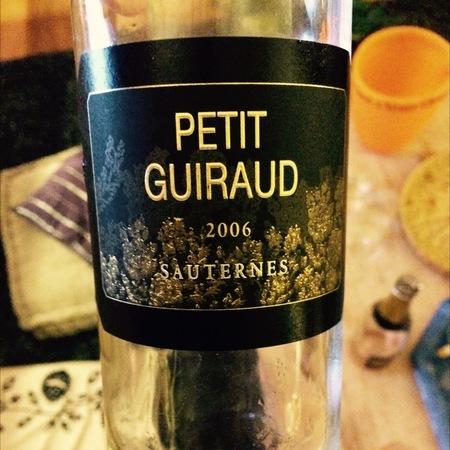 Château Guiraud Petit Guiraud Sauternes Sémillon-Sauvignon Blanc Blend  2013 (375ml)