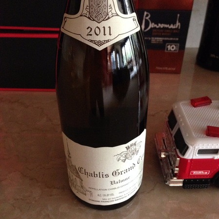 Domaine François Raveneau Valmur Chablis Grand Cru Chardonnay 2011