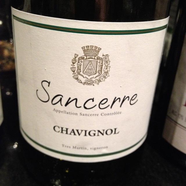 Chavignol Sancerre Sauvignon Blanc 2014
